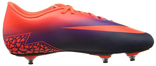 Nike 759978-845, Chaussures de Football Homme Bleu (Total Crimson/obsidian/vivid Purple)