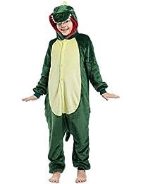 Pijama Dinosaurios Ropa Niño Niña Animal Cuerpo Entero Mujer Familiar Navidad Halloween Disfraz