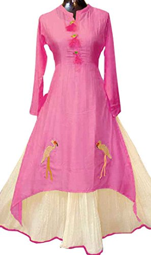 Gown for womens (J B Fashion gown dress for women party wear gowns indian girls 18 years anarkali long and one piece skirt branded belt churidar cotton cloth ethnic evening girl georgette heavy work home fashion new styled kurti kurtas kids latest design 2017 material unstitched collection offer of style today women's queen readymade stitched ready made suit salwar suits type lehenga tops traditional under 500 womens western 12 years,wedding 400 rupees 200 with wedding  available at amazon for Rs.899