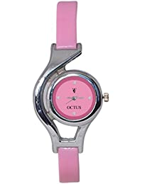 Octus Pink Dial Analog Watch For Women