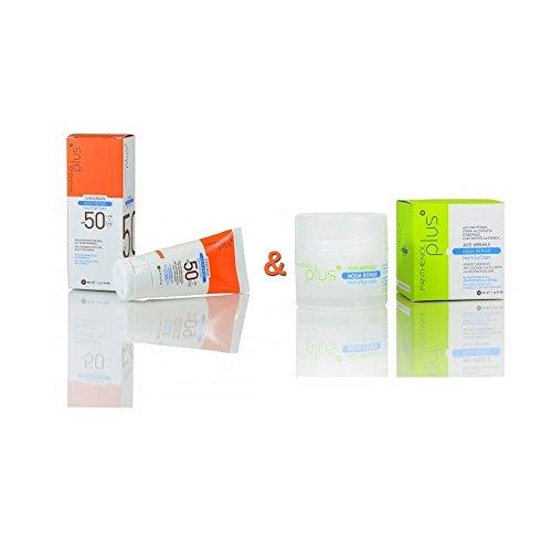 Benefit Hellas Panthenol Plus Aqua Repair Sunscreen Face & Eye Cream SPF50 50ml & Anti-wrinkle Face & Eye Cream 50ml