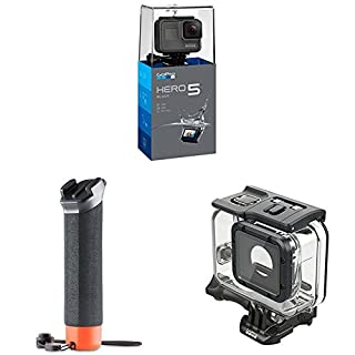 GoPro HERO5 Black Action Camera with Super Suit and Floating Hand Grip (B07CXHFBLT) | Amazon price tracker / tracking, Amazon price history charts, Amazon price watches, Amazon price drop alerts