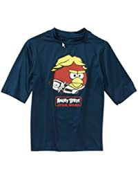 Star Wars Angry Birds Boys Swim Shirt (XL (14/16))