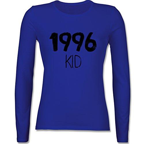 Geburtstag - 1996 KID - tailliertes Longsleeve / langärmeliges T-Shirt für Damen Royalblau