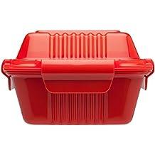 Aladdin 10-01451-015 - Porta alimentos 0,35 l, color rojo