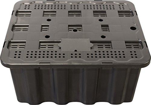 EasyPro Pond Products 73,7 x 61 cm Robuster Brunnen und Wasserfallbecken, für Vasen und Steinsäulen bis zu 13,6 kg -