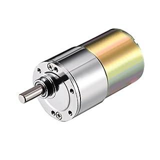 Aexit DC Elektroinstallation 12V 87RPM Micro Getriebe Motor Fehlerstrom-Schutzeinrichtungen Geschwindigkeitsreduzierung Antriebswelle