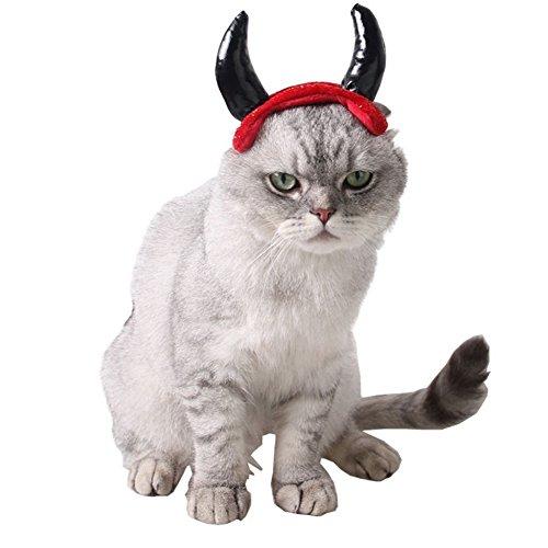 Imagen de bello luna sombrero de mascota sombrero headwear cosplay diadema para perros y niños accesorio de disfraces para mascotas