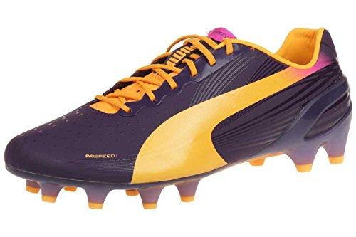 Evospeed 1.2 FG - Chaussures de Foot Mûre/Orange Fluo lila