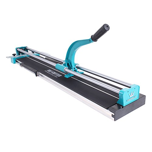 Chrisun Coupe-carreaux Manuel 47 Pouces 120mm Coupe Carrelage Manuel Professionnel Manual Tile Cutter Hand Tool (120cm)