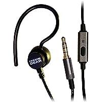 XDU Recon + Mic Single Stereo-to-mono Earhook Earphone, Reinforced Cord