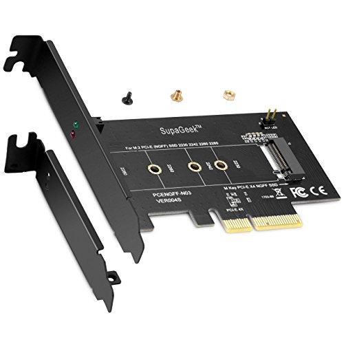 Tarjeta adaptadora M.2 PCIe SSD PCIe Express 3.0 x4