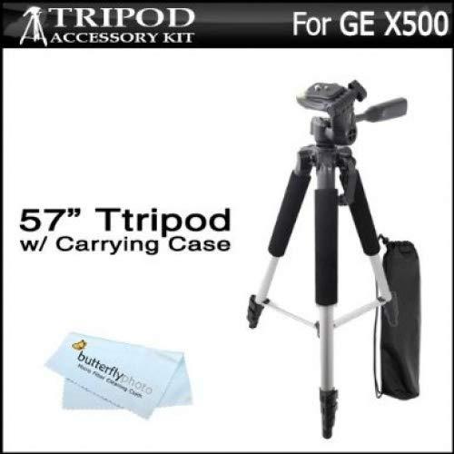 57Cámara/videocámara trípode w/funda de transporte para GE Power Pro Series X500, X5, Power Pro X550Cámara Digital