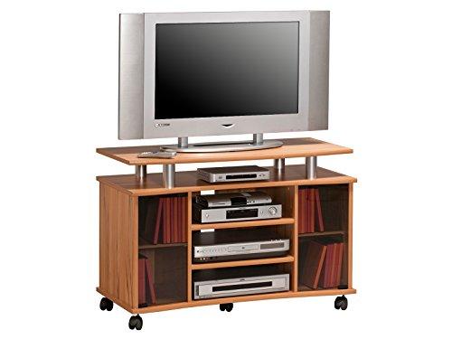 """TV-Wagen Fernsehtisch Rollwagen TV-Board Hifi Unterschrank Sideboard Holz """"Lago"""" (Kernbuche)"""