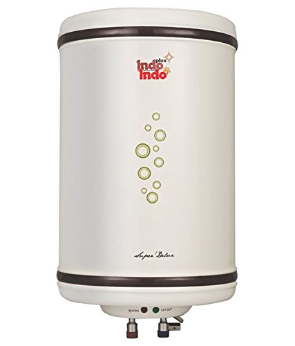 Indo 10 Ltr Super Delux Geyser Ivory Price in India