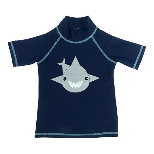 Maglia Termica Manica corta bambino ANTI-UV Blu Shark, 8 anni.