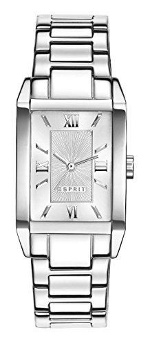 Esprit Damen-Armbanduhr Helena Analog Quarz Edelstahl ES000EO2011