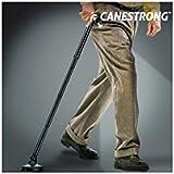 Hasendad Canestrong - Baston plegable con led y pie pivotante