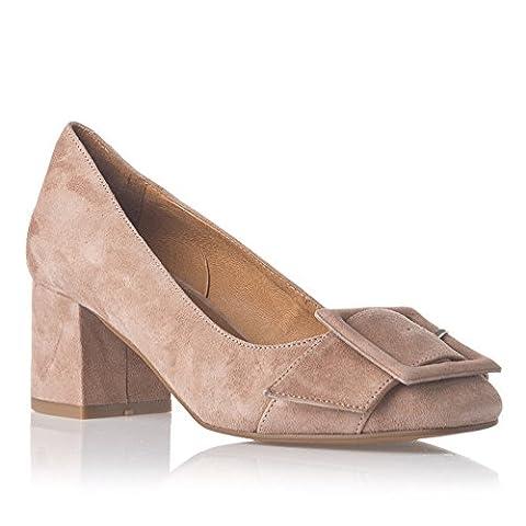 Laura Moretti Damen High Heels Shoe Geschlossen, Pink, 38 EU