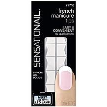 SensatioNail French Manicura 100 puntas blancas