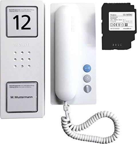 kompakten Audio Siedle Set CA 812-1Reihe w der weißen Audio Signal Siedle Lautsprecherset Kompakt