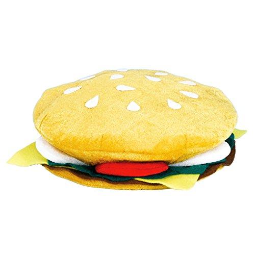 Hamburgerhut für Erwachsene für den (Kostüme Hamburger Erwachsene Für)