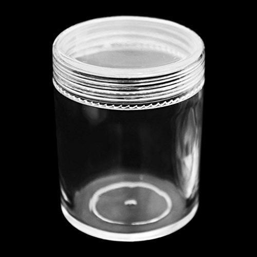 Guoyy contenitore organizzatore del contenitore 100 ml per chiaro pasta di argilla, schiuma, fango