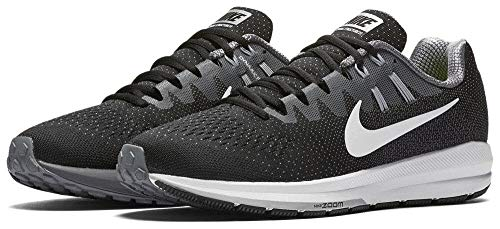 Nike Air Zoom Structure 20, Zapatillas de Trail Running para Hombre, Negro (Black/White/Cool Wolf Grey), 44.5 EU