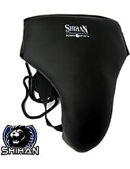 SRINT espíritu sintética BJJ Samba Krav Maga deportes de contacto Kickboxing, Karate, MMA, lucha boxeo hombre–Coquilla de boxeo Senior
