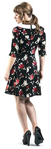 Abito Mini Dress Da Donna Selma Hell Bunny (Nero) Nero
