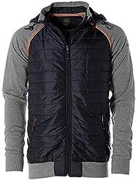80163bb7d178e9 Kitaro Kapuzenjacke Hoody Jacket Sweatjacke Jacke Sweatshirt Herren  Plusgröße