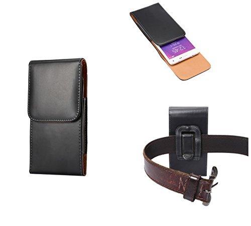 Custodia verticale in vera pelle, con clip per cintura, chiusura magnetica, per Apple iPhone 6 /Apple iPhone 6s - Linea premium