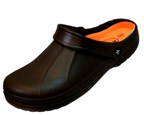 Mens EVA Clogs. Slip-On Gardening, Pool, Shower Mules.
