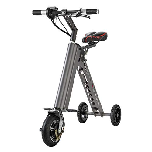 Electric Scooter,Mini Foldable Tricycle With Light Weight 11KG,Speed 20KM/H,Full Charge 35KM Range,Suitable for Travel and Leisure Activities, Easy To Be Placed In The Trunk
