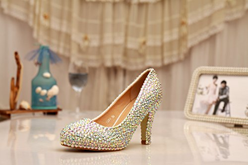 Minitoo , Semelle compensée femme Or - Gold-10cm Heel