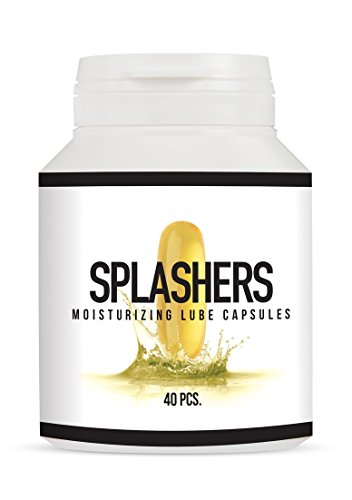 Pharmquest by Shots - Splashers - Gleitmittelkapsel 40 pcs - 1 Stück