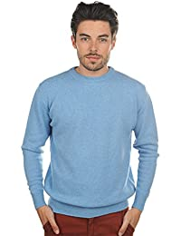 Pull homme col rond 100% cachemire 4 fils