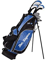 Ben Sayers M1i Kit golf Homme Fibre de carbone Tige régulière Droitier Noir/bleu