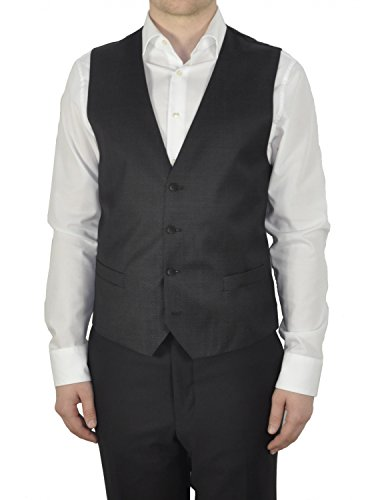 Michaelax-Fashion-Trade - Gilet - Uni - Sans Manche - Homme Black - Schwarz (19)