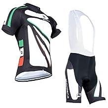 ZZAZXB Abbigliamento da Ciclismo da Uomo Set Primavera Autunno Traspirante Asciugatura Rapida Tuta Sportiva Uomo e Donna Maglia da Ciclismo Bici da Strada Mountain Bike da Equitazione,White,M Abbigliamento sportivo