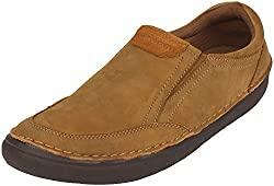 Action Shoes Mens Camel Nubuck Casual Shoes 7 UK