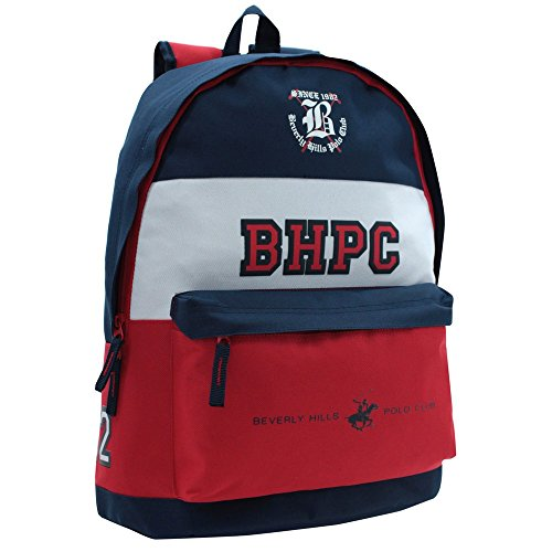Beverly Hills Polo Club Set de Sac Scolaire, 42 cm, Multicolore 5272351