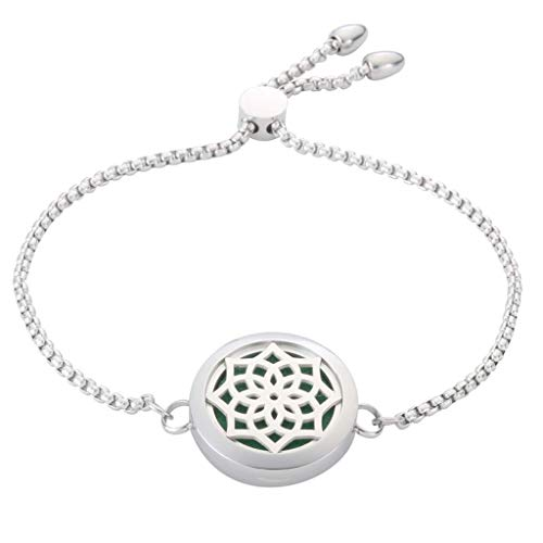 JAOYU Diffuseur de Bracelets pour Femmes Bracelets d'huile...