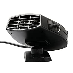 chauffage voiture ventilateur d givreur pare brise portable r chauffeur chauffant 12v auto. Black Bedroom Furniture Sets. Home Design Ideas