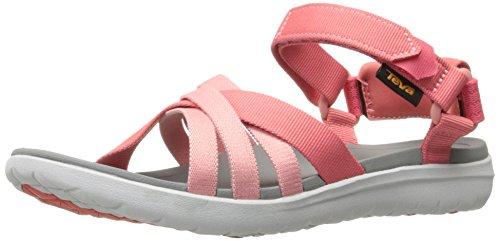 Teva Damen W Sanborn Sandal Sport, Pink (Rose Coral), 42 EU