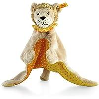 Steiff 240621 - Leon Loewe Schmusetuch 28, beige/gelb/orange preisvergleich bei kleinkindspielzeugpreise.eu