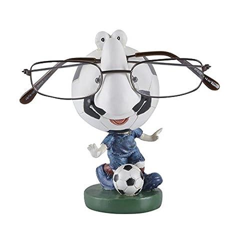 Mr Crimbo Novelty Reading Glasses Holder Figure, Football