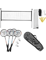 IPOTCH Badminton Netz Faltbare Tennisnetz Standardgr/ö/ße Indoor Outdoor Garten Strand Sportger/ät 6,1 x 0,7 m