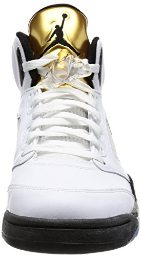 95b115d762f2c3 coupon for air jordan 4 retro levis nrg levis 607aa 02f76  new zealand nike  herren air jordan 5 retro turnschuhe blanco white black mtlc gold coin f56be