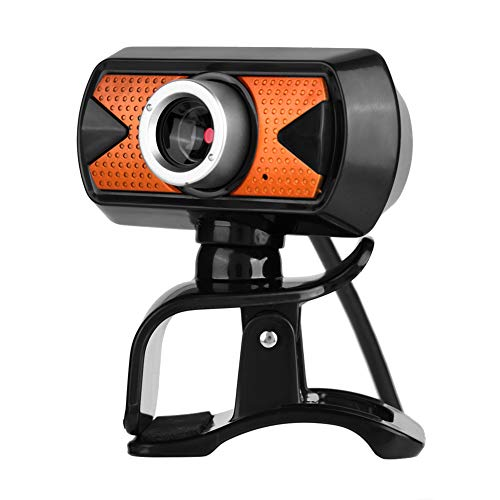 ASHATA USB HD Webcam, 16 MP HD USB PC Webcam Web Cam 360 ° Drehen Webkamera,Eingebautes Digital Mikrofon Computer Kamera Webcam für Video Chat Aufnahme MSN usw.